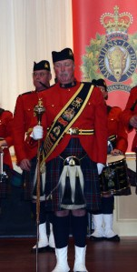 RCMP E. Division Drum Major Mike Guillemin